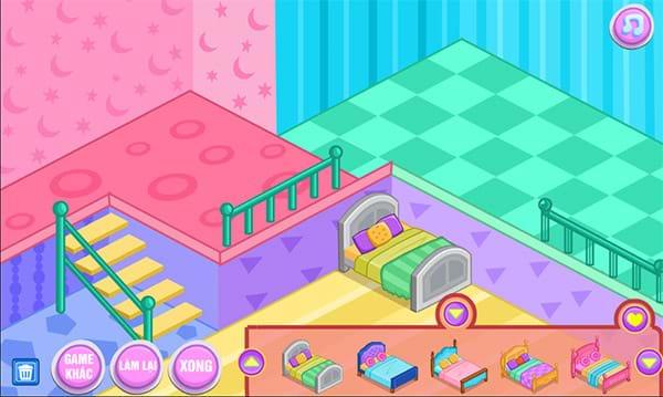 Game trang trí nhà cửa