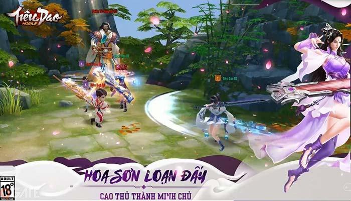 Tiêu Dao Mobile có đồ họa 3D sắc nét