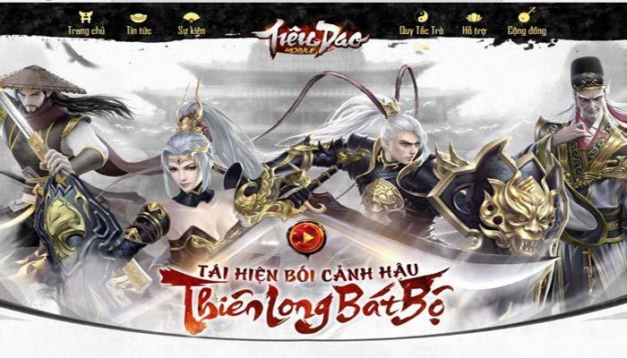 Tieu Dao Mobile tái hiện bối cảnh hậu Thiên Long Bát Bộ