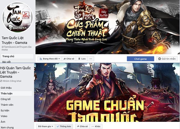 Hiện game đã có Group và Fanpage chính thức và đông đảo thành viên tham gia